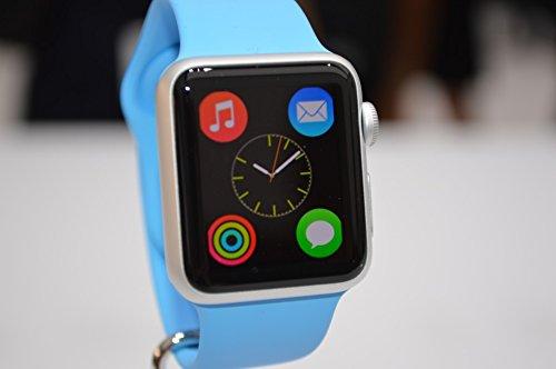 Apple watch sport blue