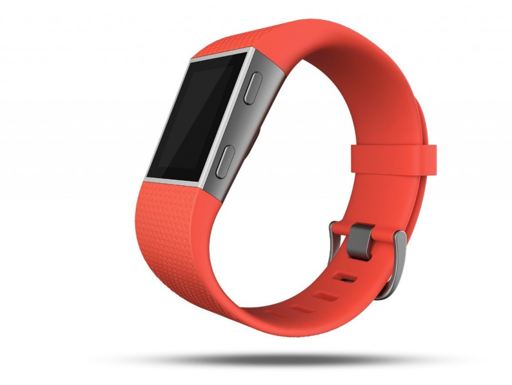 Fitbit Surge orange side