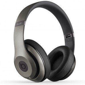 beats studio wireless over ear headphone titanium