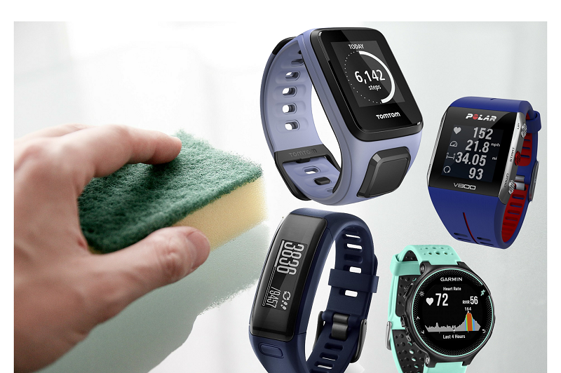 How To Clean Your Fitness Tracker