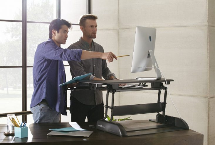 Get Fitter with VARIDESK Pro Plus 36 Standing Desk