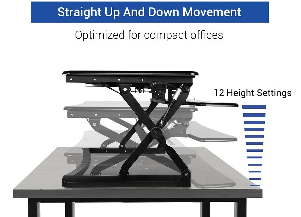 Flexispot 35 Black Stand Up Desks Workstation: Why You ...