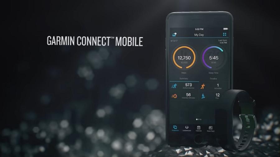 Garmin-vivosmart-3-connect-mobile